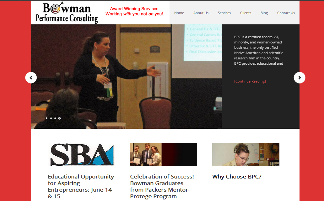 BPC TODAY *features autopublishing to social networks and a user-friendly search for her mountains of content