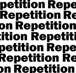 repetition words